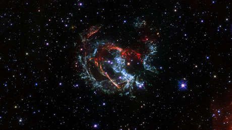 """El telescopio Hubble capta el """"cadáver gaseoso en expansión"""" de una supernova cerca de nuestra galaxia (VIDEO)"""