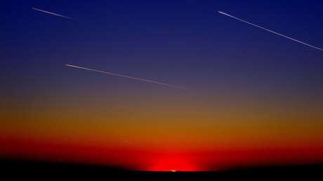 VIDEOS: Una extraña bola de fuego verde ilumina el cielo en España