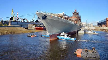 La Armada rusa inicia en 2021 las pruebas del Admiral Najímov, el buque de superficie más potente