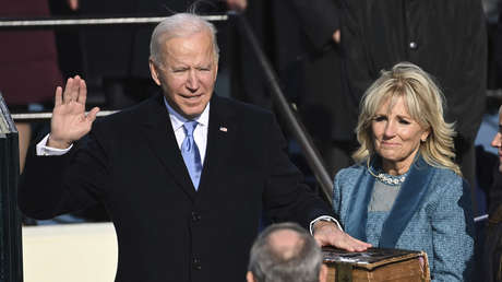 VIDEO: Joe Biden jura como el 46.º presidente de EE.UU.