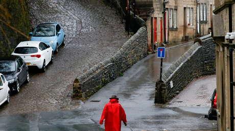 Ordenan evacuaciones en Reino Unido por severo riesgo de calamidades al paso de la tormenta Christoph