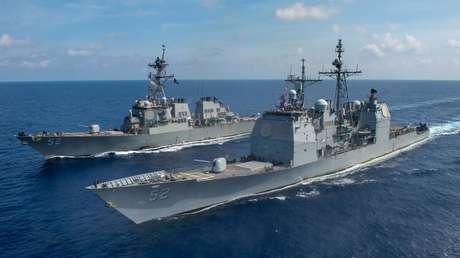 """Pekín tras la llegada de buques estadounidenses al mar de la China Meridional: """"EE.UU. flexiona sus músculos, esto no favorece la paz"""""""