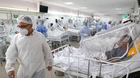 Detectan en Brasil a personas que se habrían contagiado simultáneamente con dos cepas diferentes de coronavirus