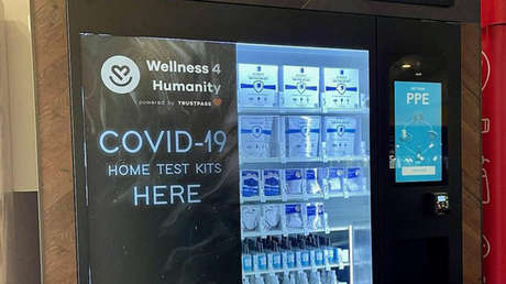 Un aeropuerto de EE.UU. instala máquinas expendedoras de pruebas para detectar el covid-19