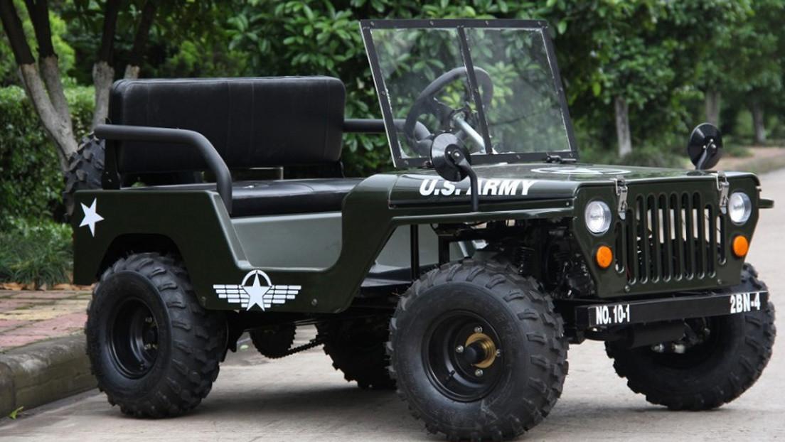 Alibaba ofrece una copia reducida de un mítico jeep de EE.UU. por 1.300 dólares