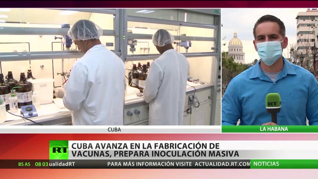 Cuba avanza en la producción de vacunas y se prepara para la inoculación masiva