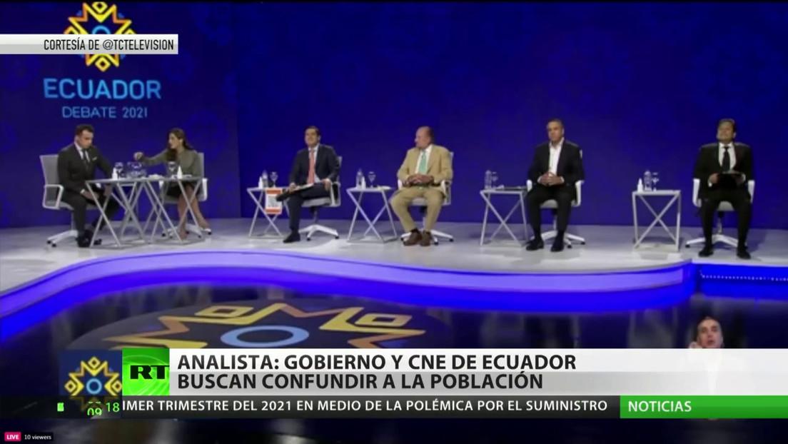 Ecuador imprime las papeletas para el Parlamento Andino