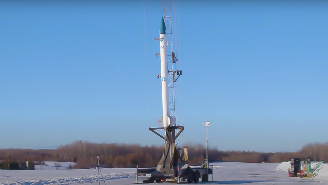 """""""Vuelo histórico"""": realizan el primer lanzamiento de un cohete comercial propulsado por biocombustible (VIDEO)"""