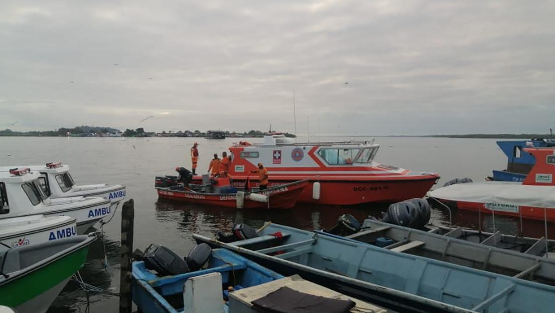 Aumenta a 14 el número de muertos en el naufragio de dos lanchas en Colombia
