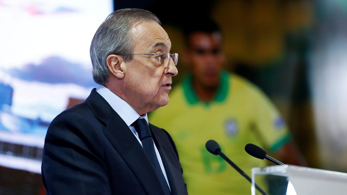 El presidente del Real Madrid, Florentino Pérez, da positivo por covid-19