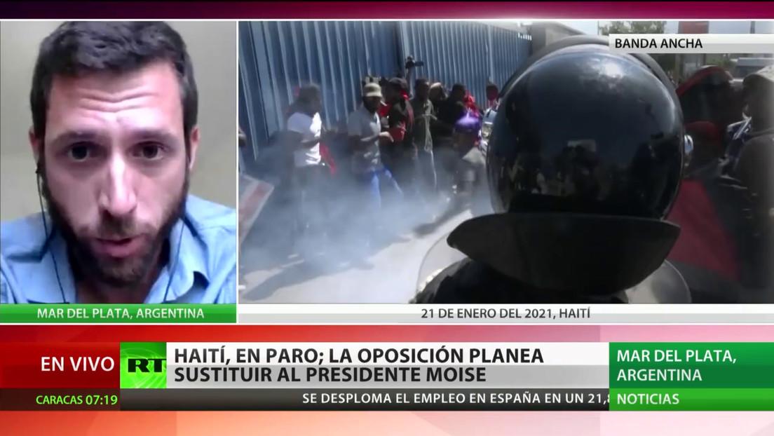 La oposición de Haití acuerda un gobierno de transición