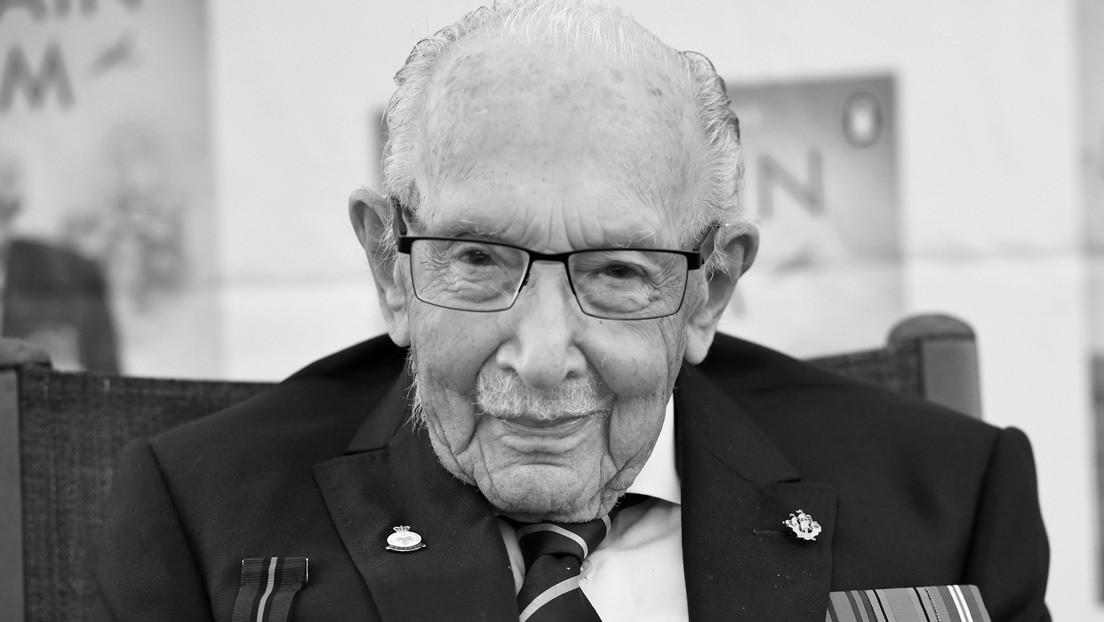 Muere por covid-19 un veterano británico de la II Guerra Mundial de 100 años que recaudó millones de dólares para los sanitarios