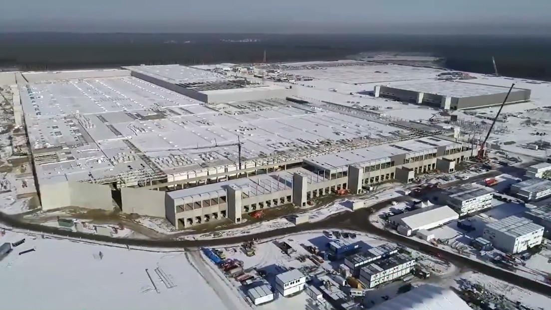 VIDEO: Elon Musk muestra el progreso de las obras de Gigafactory Berlin a vista de dron