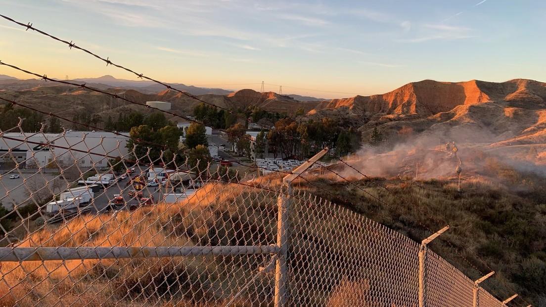 Una explosión en un set de rodaje cerca de Los Ángeles deja tres heridos de gravedad