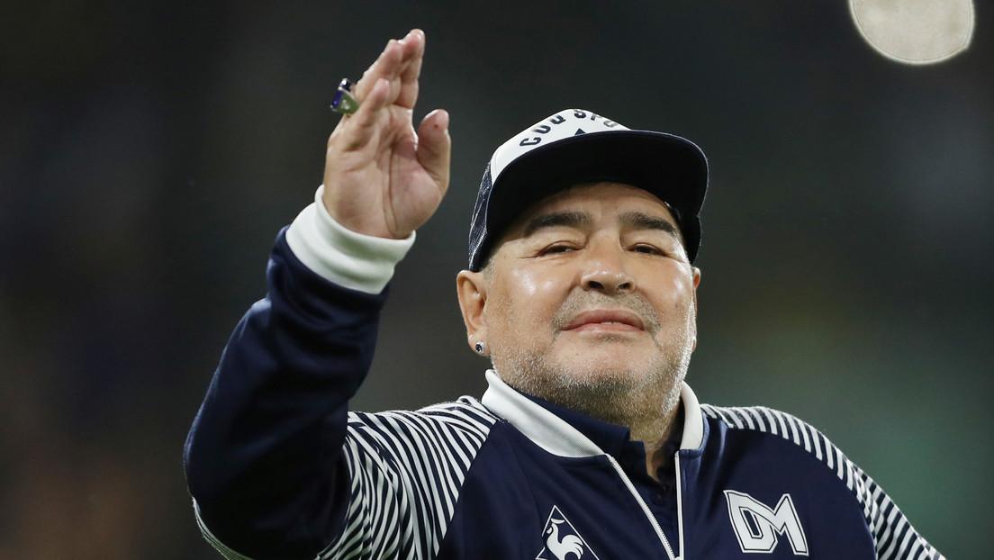 Sale a la luz la última grabación de Maradona antes de morir (VIDEO)