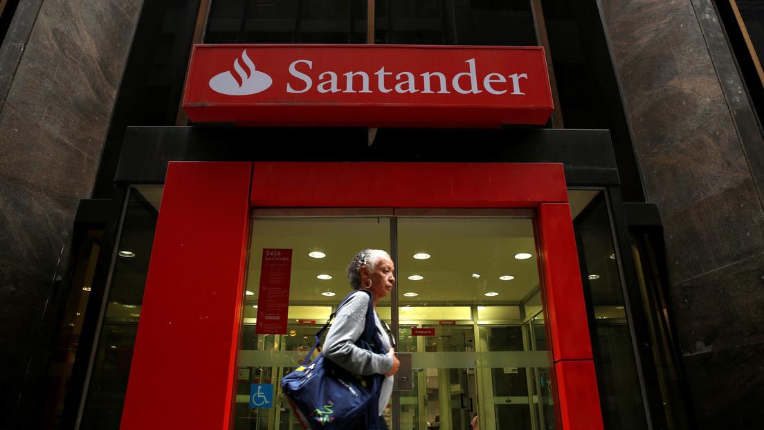 El Banco Santander sufre pérdidas de más de 10.500 millones de dólares en 2020 debido al covid-19