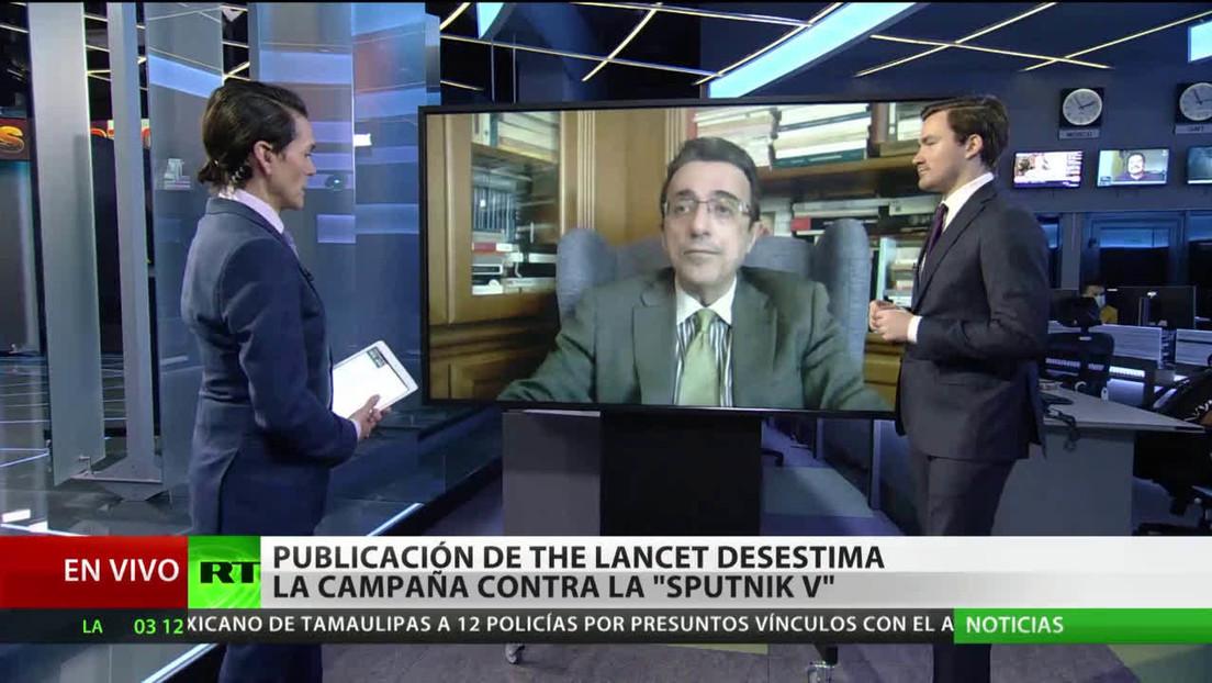 La publicación del estudio de The Lancet cambia por completo los titulares de muchos medios de comunicación sobre Sputnik V