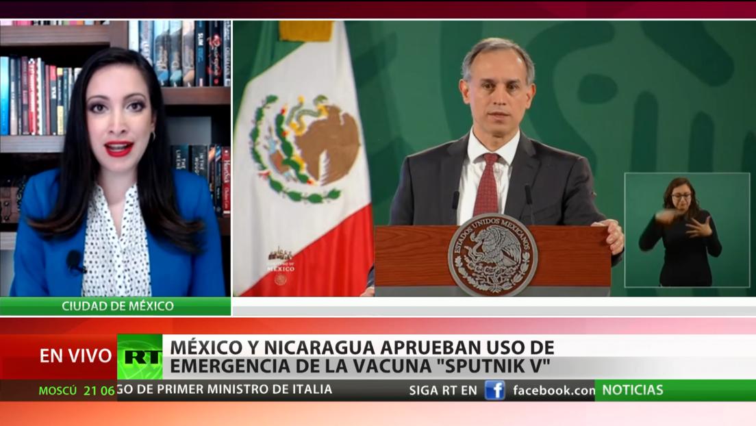 México y Nicaragua aprueban el uso de emergencia de la vacuna rusa contra el covid Sputnik V