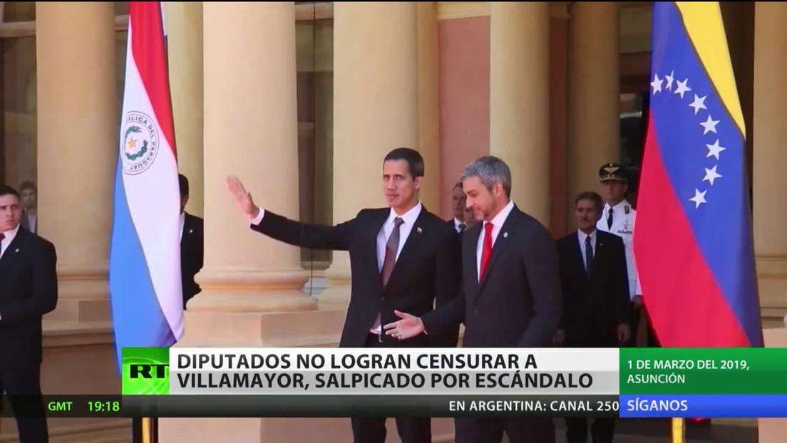 Diputados de Paraguay no logran censurar al jefe de Gabinete de la Presidencia tras un escándalo de corrupción