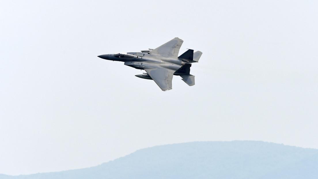 El cazabombardero F-15EX de Boeing realiza su primer vuelo (VIDEO)
