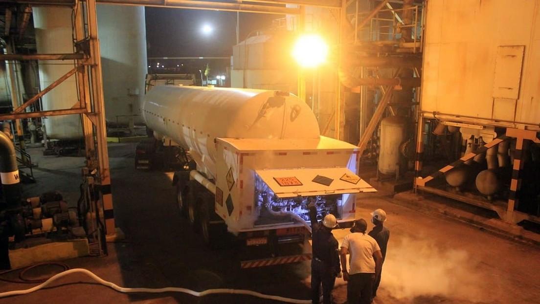 Venezuela prepara el envío de un segundo cargamento de oxígeno para apoyar al norte de Brasil frente a la crisis sanitaria por el covid-19