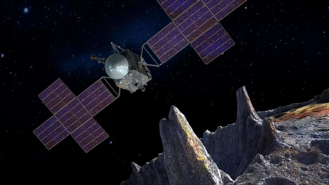 La NASA, a punto de explorar el asteroide 'dorado' Psyche 16, cuyo valor supera miles de veces a toda la economía global