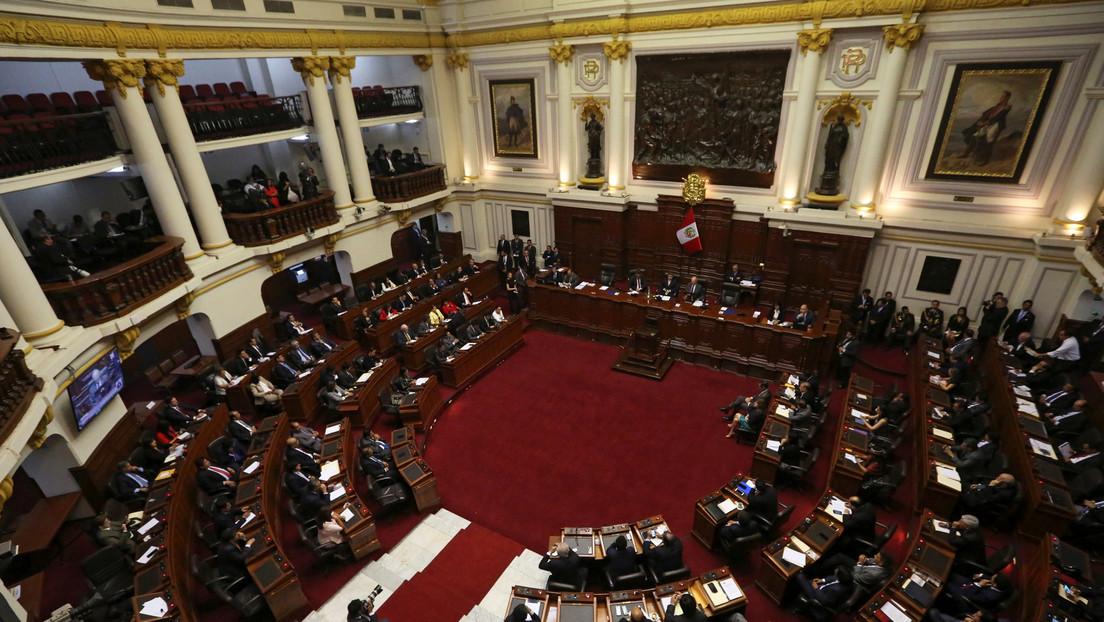 Congreso de Perú aprueba la eliminación de la inmunidad parlamentaria
