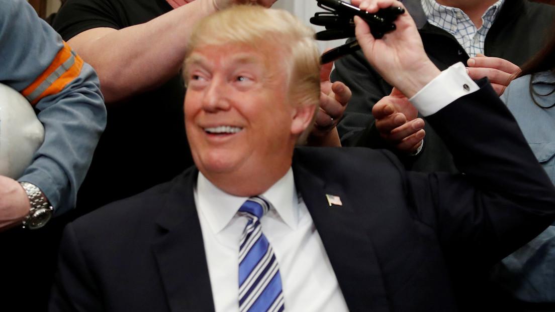 """Trump renuncia al Sindicato de Actores de Cine en respuesta a la amenaza del gremio de expulsarlo por """"incitar"""" el ataque al Capitolio de EE.UU."""