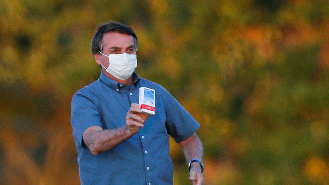 """""""Por lo menos no maté a nadie"""": Bolsonaro admite que la hidroxicloroquina tiene eficacia """"cero"""""""