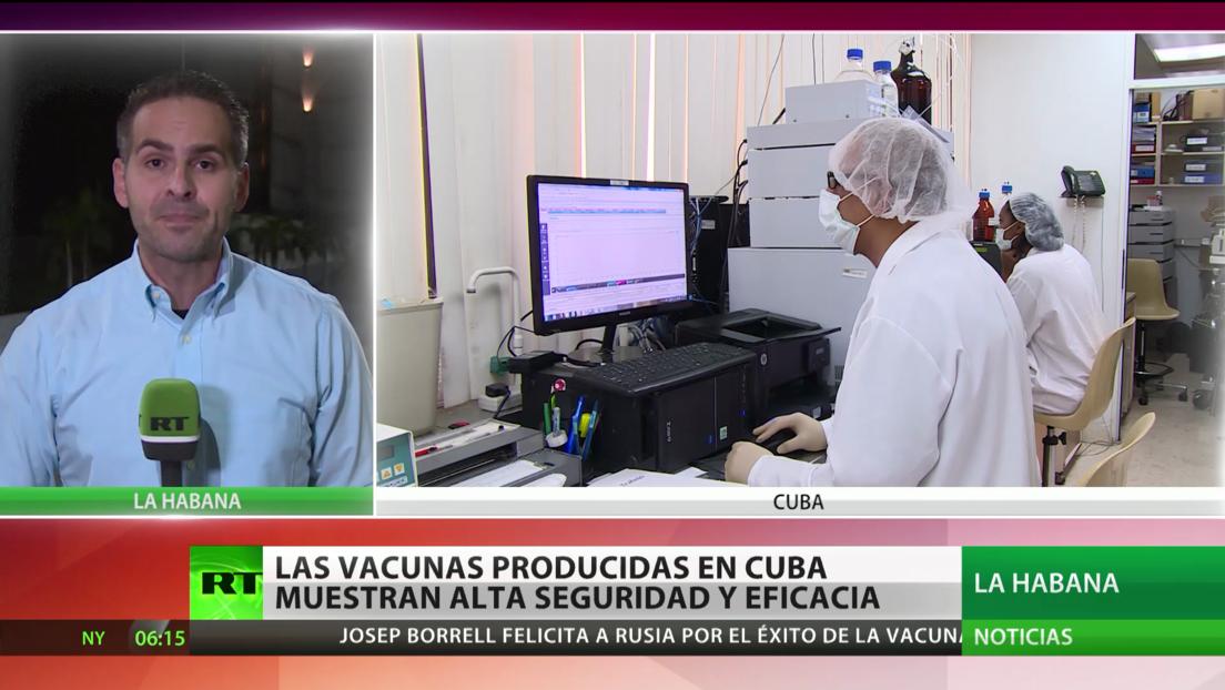 Las vacunas producidas en Cuba muestran alta seguridad y eficacia