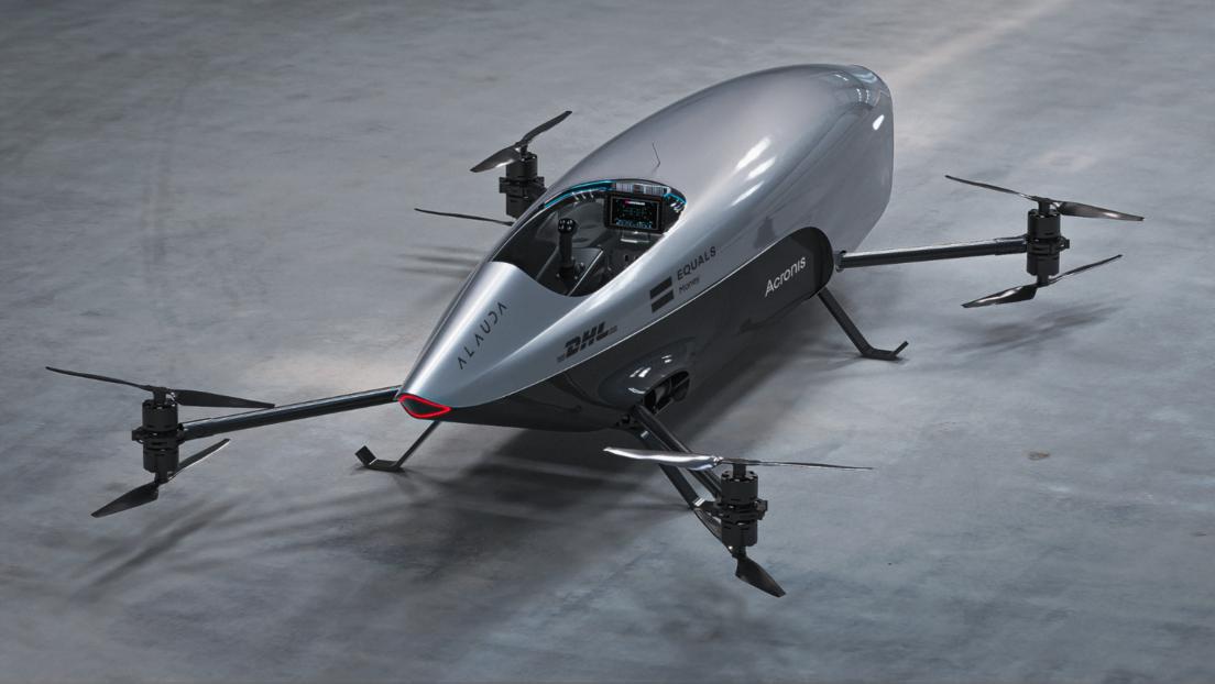 Volador, eléctrico y a control remoto: presentan el futurístico auto de carreras que busca revolucionar el deporte y mucho más (VIDEO)