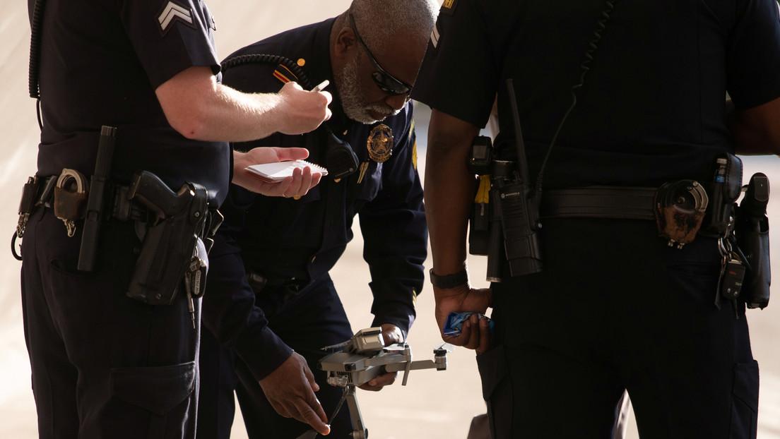VIDEO: Policía captura a un sospechoso con ayuda de un dron