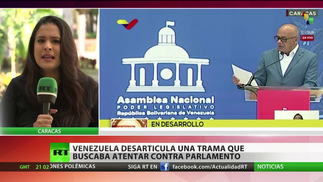 Venezuela desarticula nueva trama que buscaba atentar contra el Parlamento