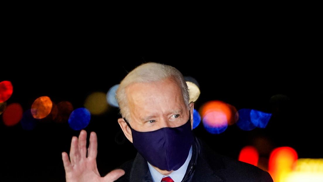 """Biden piensa que Trump no debería recibir más informes de inteligencia debido a su """"comportamiento errático"""""""