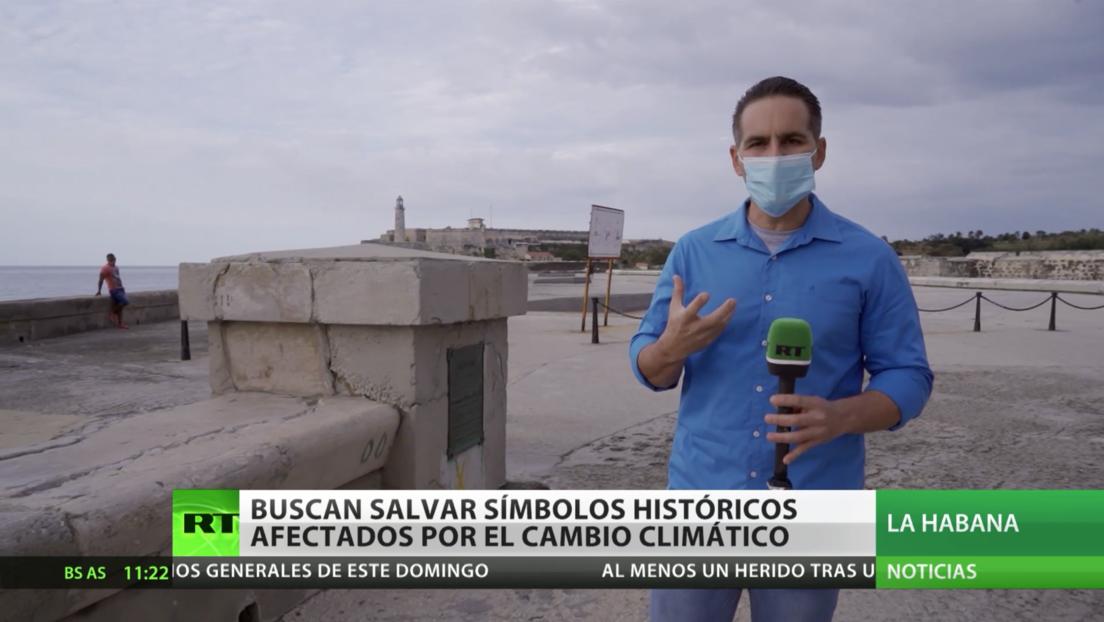 SOS por el Malecón de La Habana: Cuba busca salvar su símbolo histórico afectado por el cambio climático