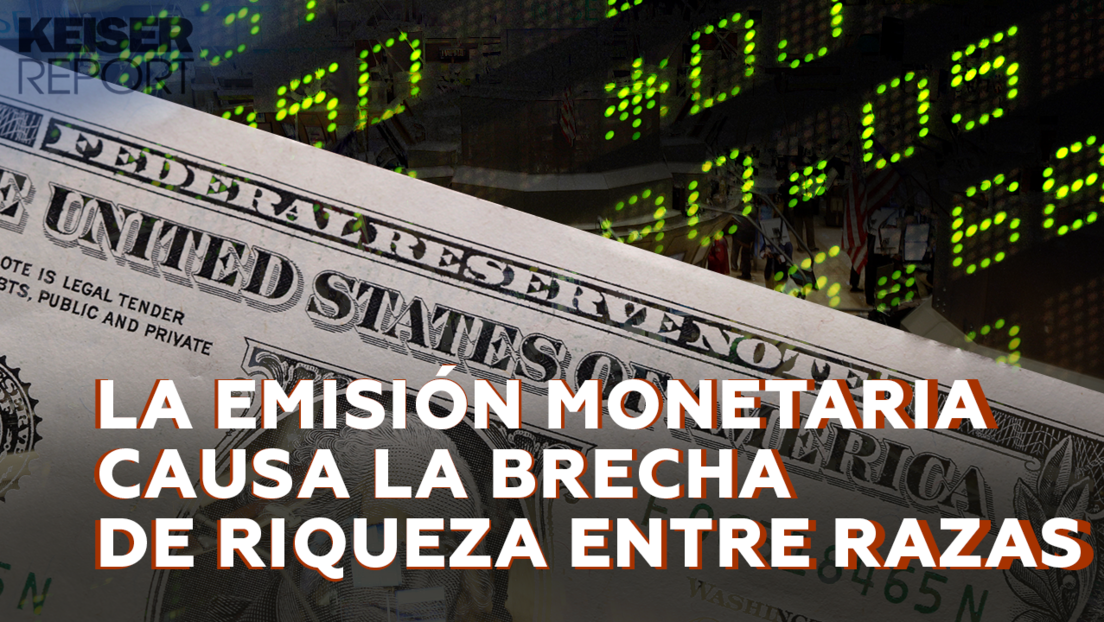 """""""Las políticas económicas y la impresión de dinero por los bancos centrales son una estafa piramidal"""""""