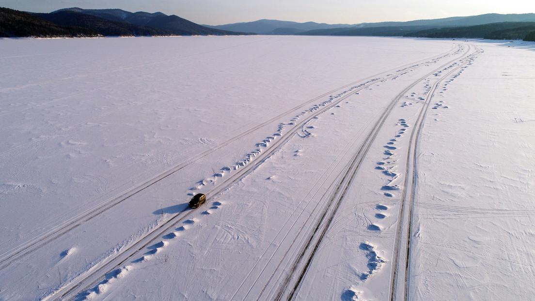 Un hombre pasa una semana atrapado en una carretera de montaña nevada por confiar en su GPS