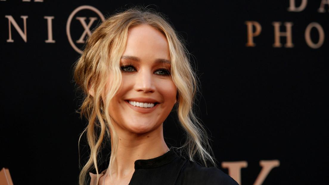 Jennifer Lawrence sufre un accidente durante el rodaje de una película y suspenden temporalmente la producción