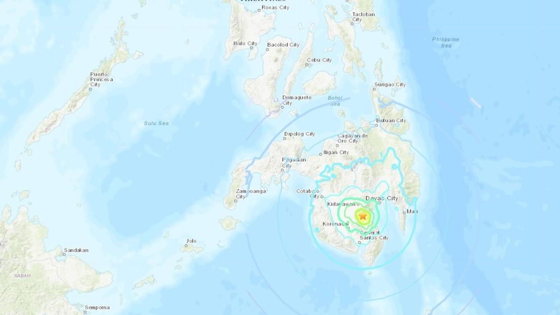 Se produce un terremoto de magnitud 6,0 en Filipinas