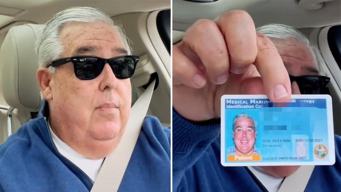 VIDEO: Un abogado muestra su tarjeta de marihuana medicinal en vez del carnet de conducir y se vuelve viral