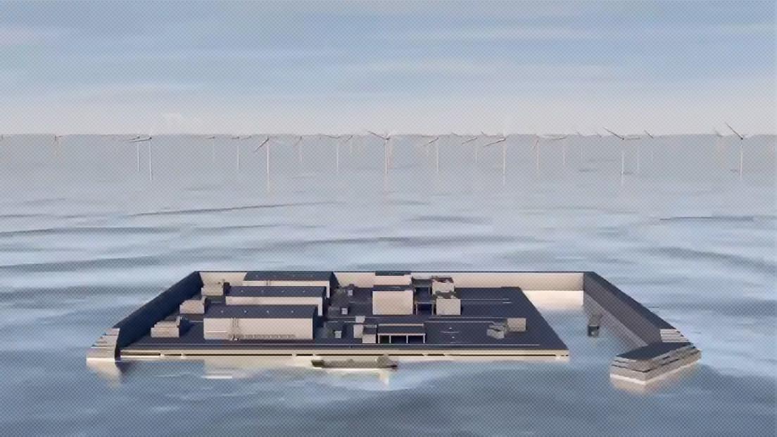 """""""El inicio de una nueva era"""": Dinamarca construirá la primera isla de energía eólica del mundo (VIDEO)"""