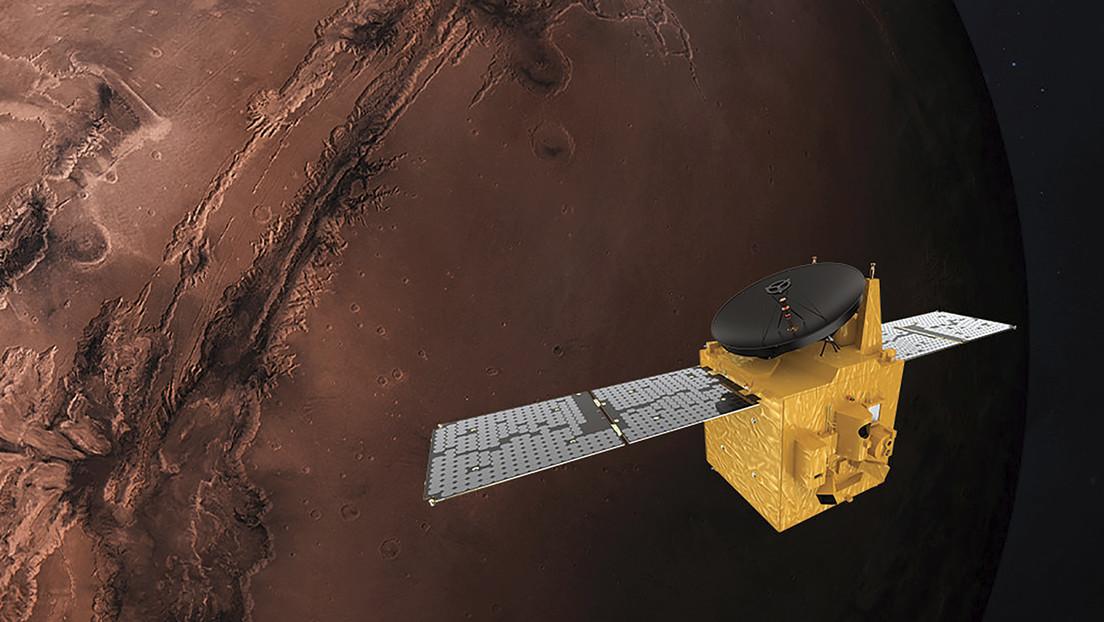 Tres exploradores espaciales están listos para llegar a Marte