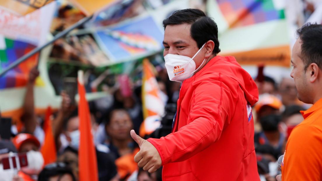 Andrés Arauz gana la primera vuelta en los comicios presidenciales de Ecuador pero va a balotaje, según conteo rápido del Consejo Electoral