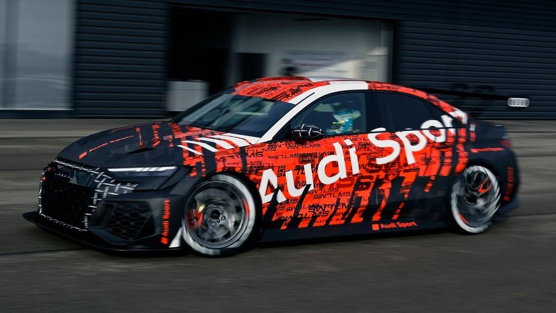 FOTO: Audi presenta su nuevo auto de carreras RS 3 LMS, que podría llegar al mercado a finales de año