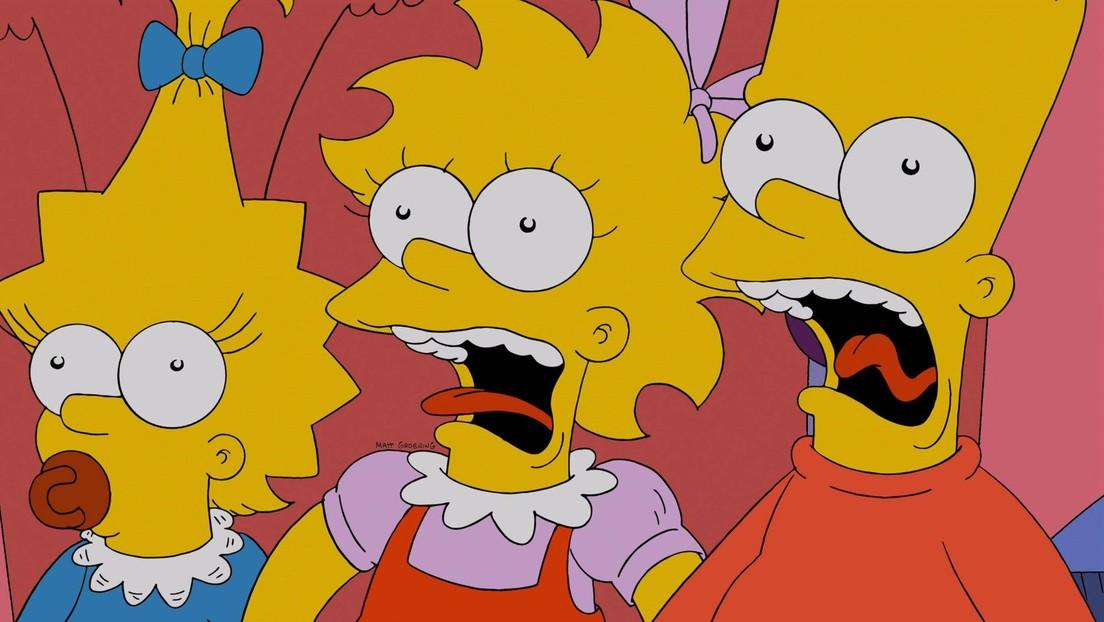 VIDEO: Recrean la clásica intro de 'Los Simpson' usando solo material de bancos de imágenes