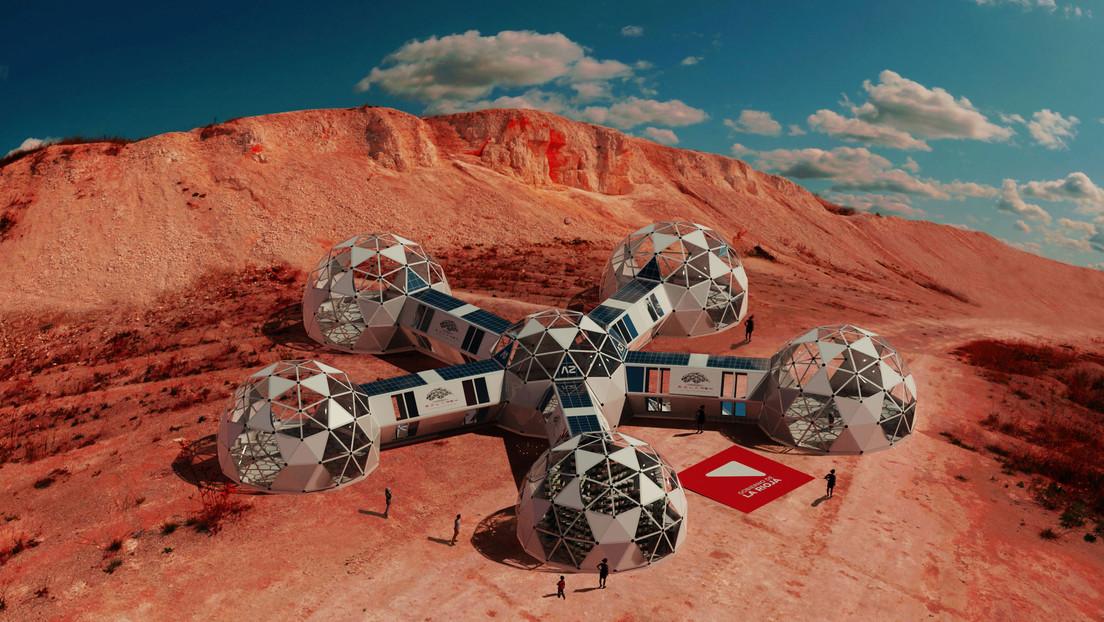 """""""Los pies sobre la Tierra, pero los ojos en Marte"""":  Argentina lanza un innovador proyecto espacial para recrear la vida en el 'planeta rojo'"""
