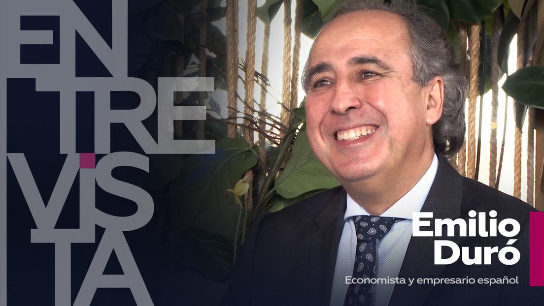 """Emilio Duró, economista y empresario español: """"La realidad no existe, la crea tu mente según cómo la hayas entrenado"""""""