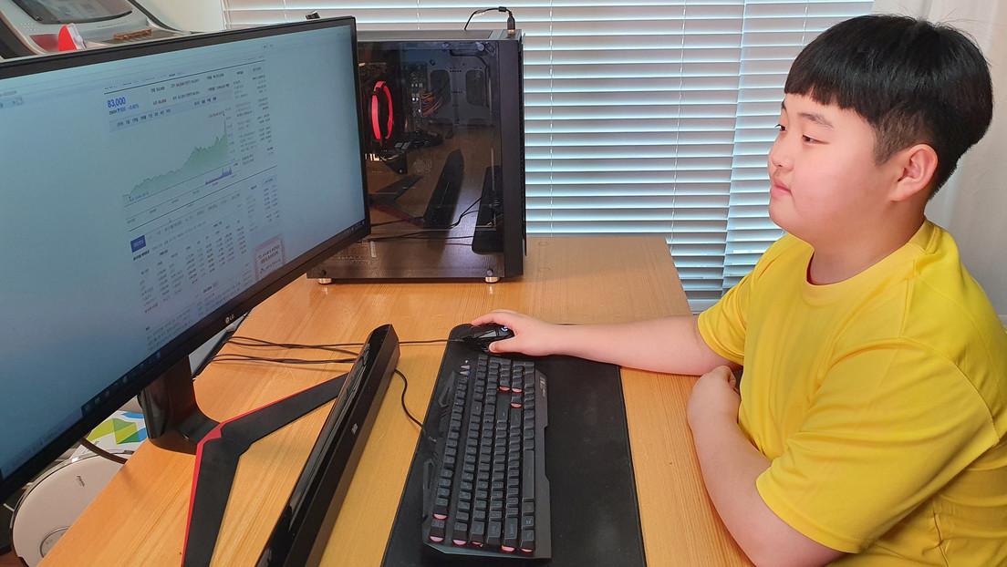 Un niño surcoreano de 12 años invierte en la bolsa como pasatiempo y logra una cuantiosa ganancia