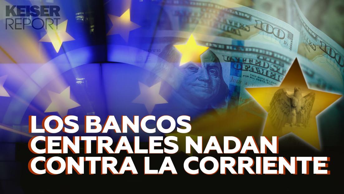 """""""Los bancos centrales han decidido rescatar a algunas personas y dejar que el resto se ahogue"""""""