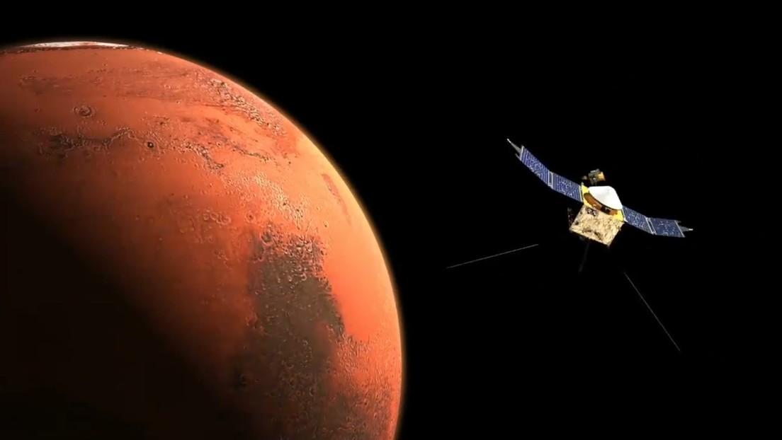 El orbitador de Emiratos Árabes entra en la órbita de Marte en la primera misión del mundo árabe al Planeta Rojo